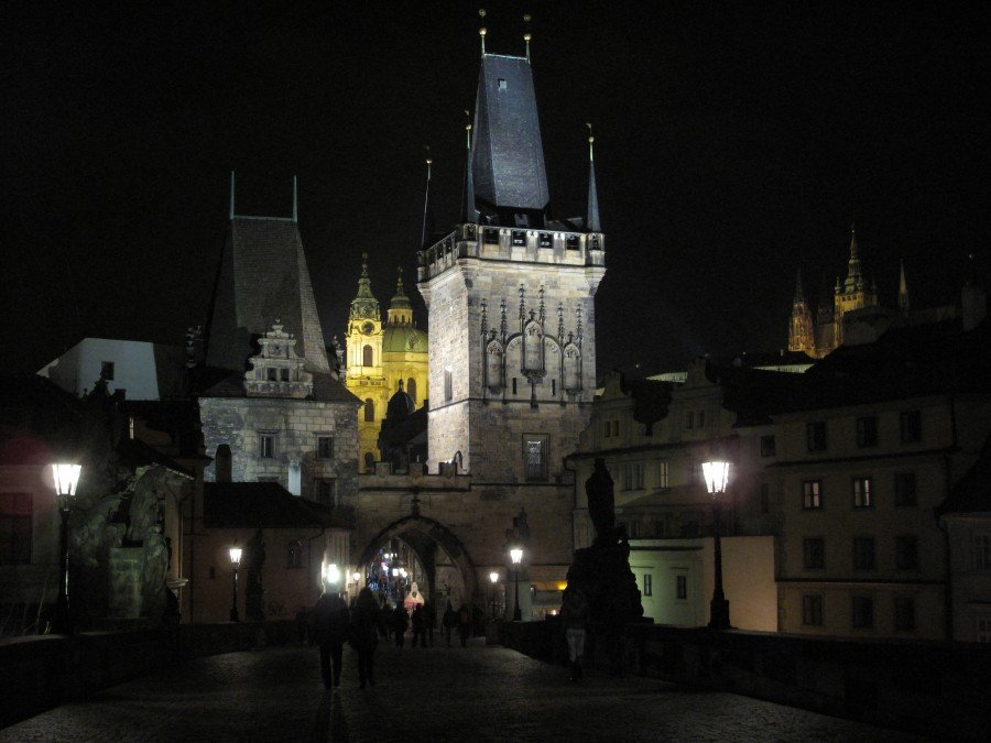 Praga-flo' in viaggio