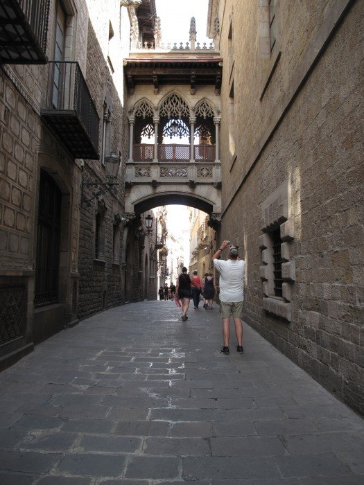 Barcellona-flo' in viaggio