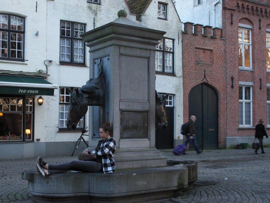 Bruges - Flo' in viaggio