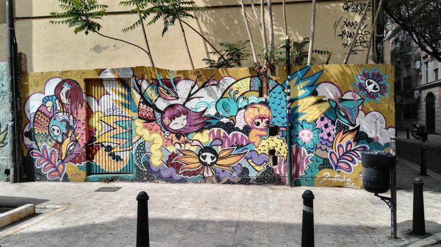 Street art - Flo' in viaggio