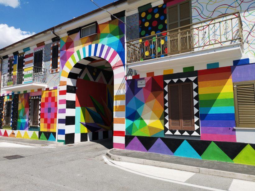 Okuda San Miguel, Aielli
