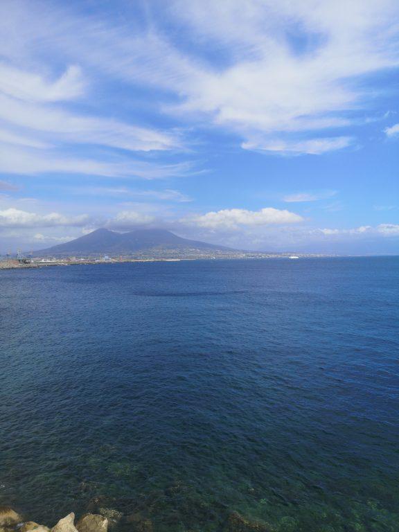Vesuvio, lungomare di Napoli